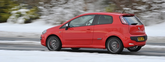 first drive fiat punto evo sporting car reviews by. Black Bedroom Furniture Sets. Home Design Ideas