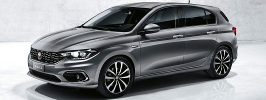 Fiat Tipo hatch and estate confirmed. Image by Fiat.