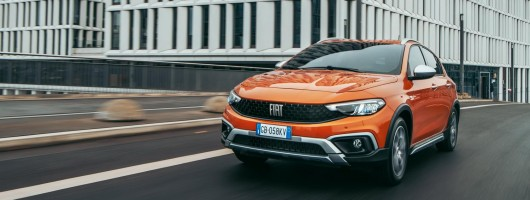 Fiat updates Tipo and adds Cross. Image by Fiat.