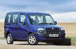 2004 Fiat Doblo JTD review. Image by Shane O' Donoghue.
