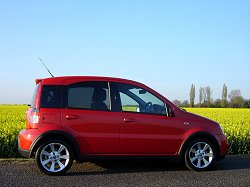 2007 Fiat Panda 100HP. Image by James Jenkins.