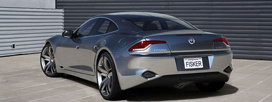 Fisker to bring production ready hybrid sportscar to Detroit. Image by Fisker.