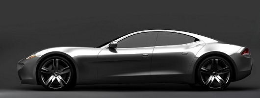 Hybrid sports car on the way. Image by Fisker.