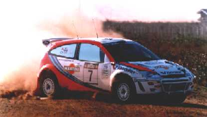 McRae & Grist in action in Kenya - click here to go to Mountune's Site - they designed the Focus' engine