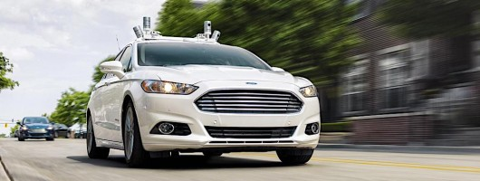 Ford plans self-driving taxi by 2021. Image by Ford.