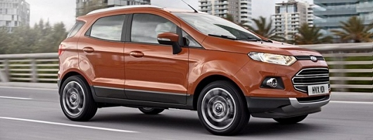 First drive: Ford EcoSport. Image by Ford.