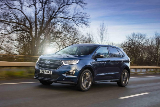 Driven: Ford Edge ST-Line. Image by Ford.