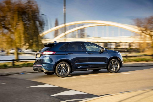 Ford Edge St Line Driven Image By Ford
