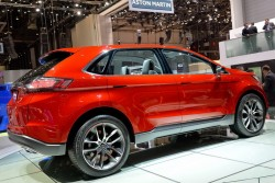 2014 Ford Edge concept. Image by Newspress.
