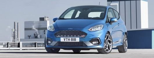 Ford gives the new Fiesta ST three cylinders. Image by Ford.