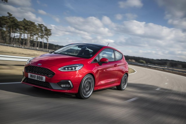 Ford to offer limited-slip diff on new Fiesta ST. Image by Ford.
