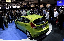 2010 Ford Fiesta (US model). Image by Newspress.