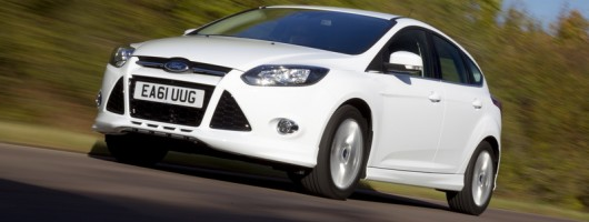 First drive: Ford Focus 1.0 EcoBoost Zetec S. Image by Ford.