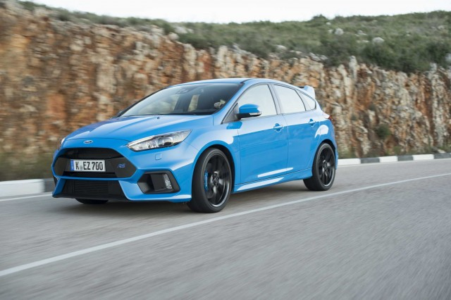 Driven: Ford Focus RS. Image by Ford.