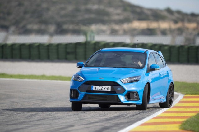 First drive: Ford Focus RS. Image by Ford.