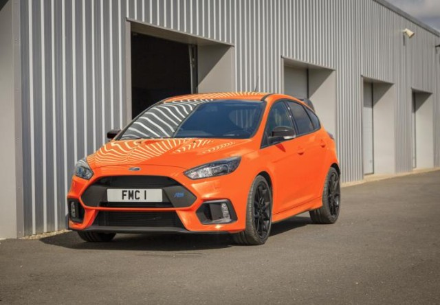 Driven: Ford Focus RS Heritage Edition. Image by Ford.
