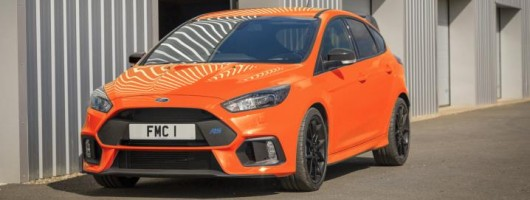 Ford Focus RS signs off with Heritage Edition. Image by Ford.