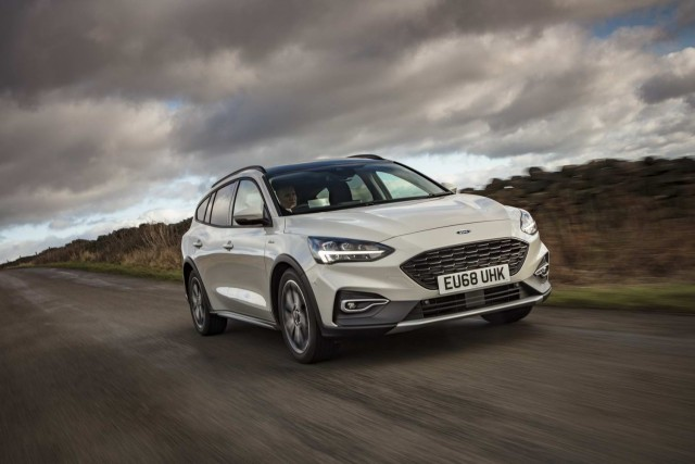 First drive: Ford Focus Active Estate. Image by Ford.