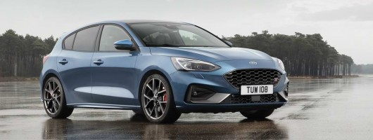 New Ford Focus ST packs 280hp. Image by Ford.