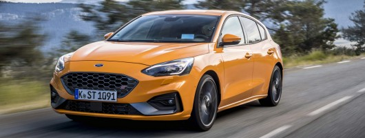 First drive: Ford Focus ST. Image by Ford UK.