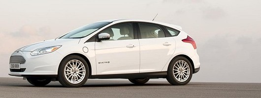 Geneva 2012: Electrifying Ford Focus Electric. Image by Ford.