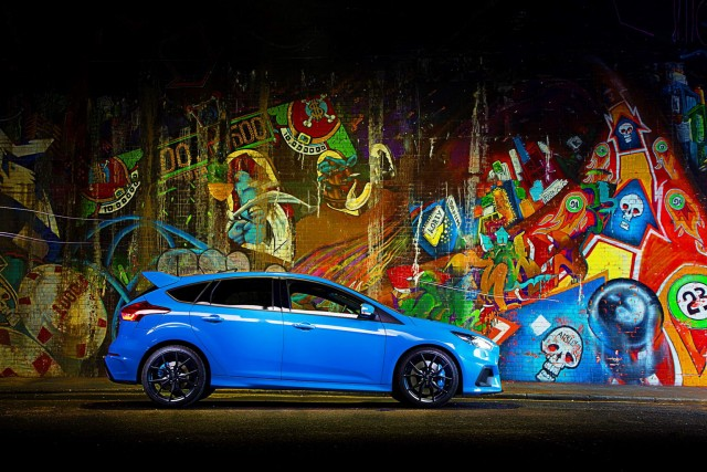 Ford Focus RS Mountune has 375hp, 510Nm. Image by Ford.