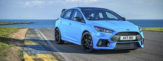 Ford Focus RS Edition gets trick new diff. Image by Ford.