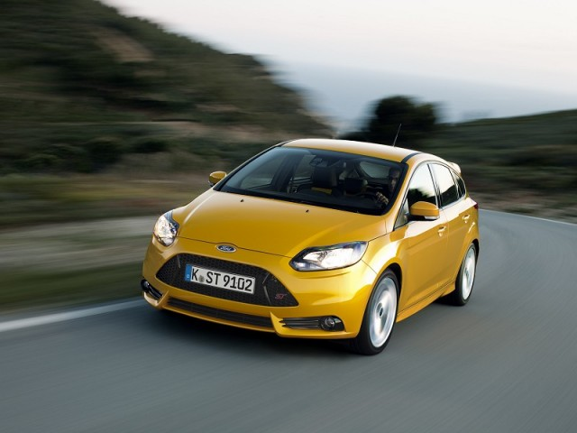 First drive: Ford Focus ST. Image by Ford.