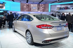 2016 Ford Fusion. Image by Newspress.