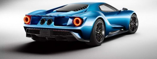 2016 Ford GT. Image by Ford.