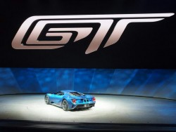 2016 Ford GT. Image by Newspress.