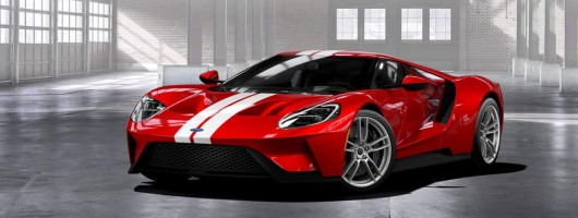 Ford to extend GT production. Image by Ford.