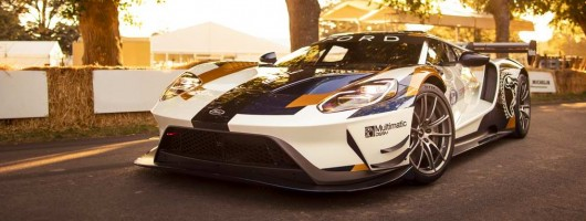Ford goes bananas with GT MkII. Image by Ford.