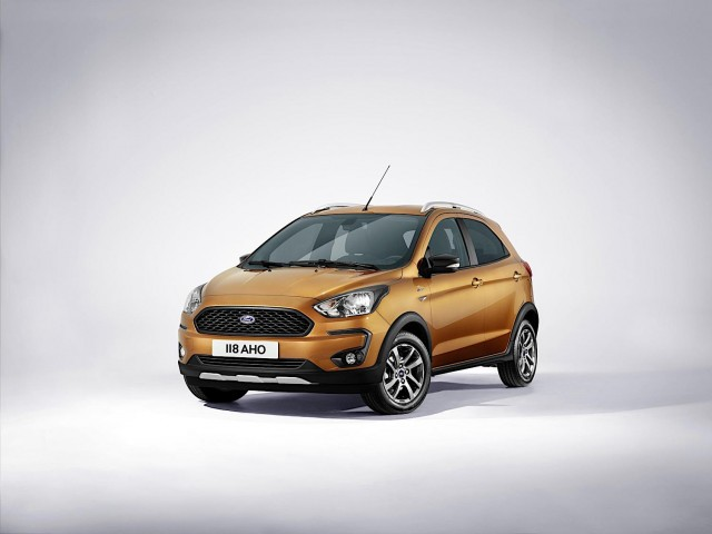 Ford Ka+ Active joins refreshed 2018 range. Image by Ford.