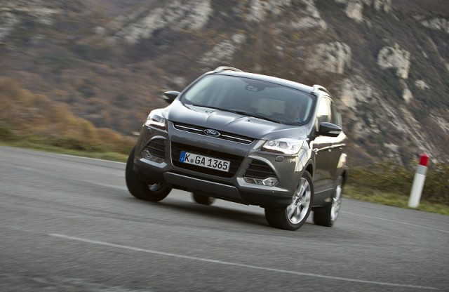 First drive: Ford Kuga. Image by Ford.