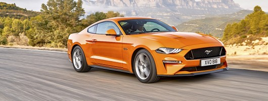 Updated Mustang gets new look and 450hp V8. Image by Ford.