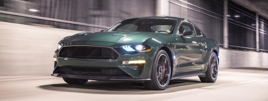 Ford Mustang Bullitt ramps up the cool factor. Image by Ford.