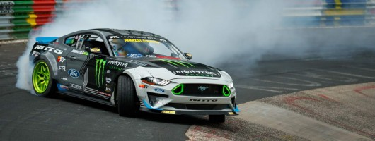 Drift champion creates Nürburgring record. Image by Ford.