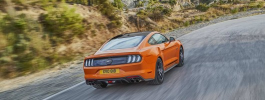 Ford celebrates Mustang's 55th with updates. Image by Ford UK.