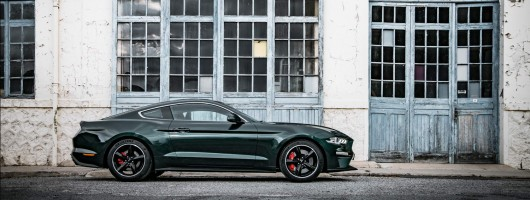 Ford Mustang Bullitt is coming to Europe. Image by Ford.