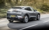 2021 Ford Mustang Mach-E AWD SR UK test. Image by Ford UK.