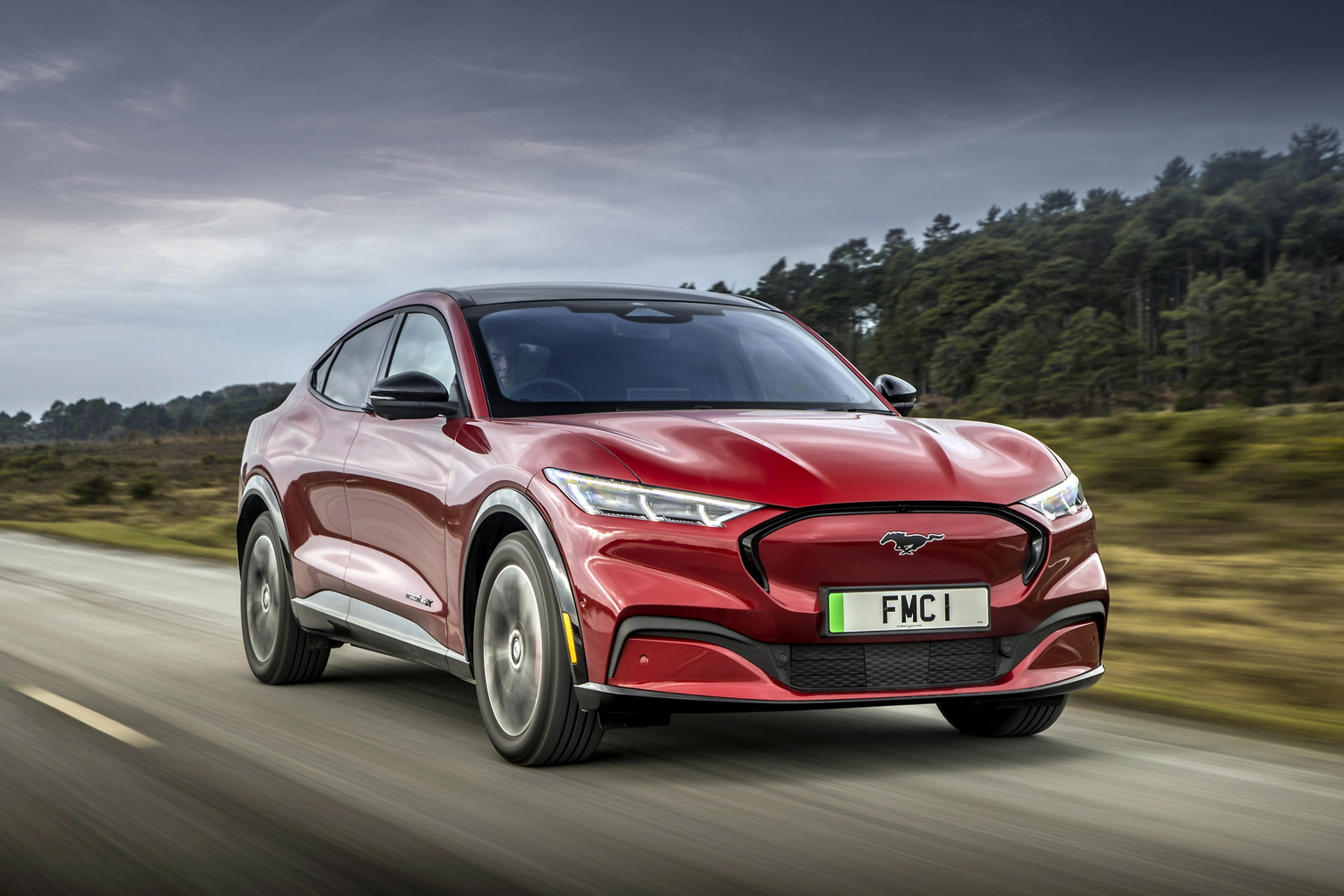 First drive: Ford Mustang Mach-E AWD ER and RWD SR. Image by Ford UK.
