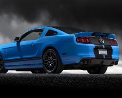Ford fits launch control to 2012 GT500. Image by Ford.