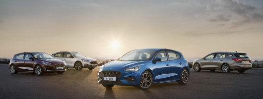 All-new fourth-generation Ford Focus debuts. Image by Ford.