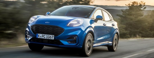 First drive: Ford Puma. Image by Ford.
