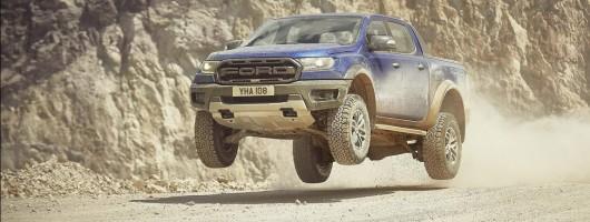 European debut for Ford Ranger Raptor. Image by Ford.
