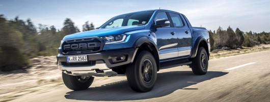 First drive: Ford Ranger Raptor. Image by Ford UK.
