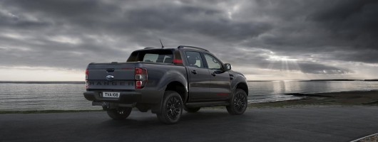 Ford Ranger pick-up is Thunder struck. Image by Ford.