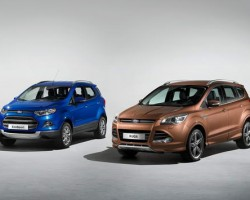 Ford SUV line-up. Image by Ford.