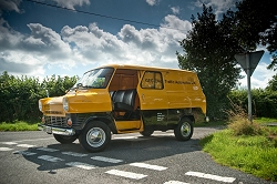 45th anniversary of the Ford Transit. Image by Jamie Lipman.